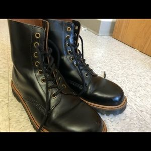Dr. Martens Pascal II Vintage Smooth Combat Boots